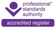 Professional Standards Authority registration logo